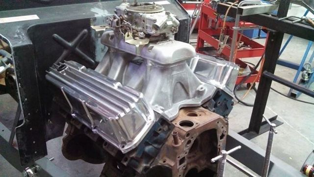 Aussiespeed Ford Valve Covers on 392 Hemi Engine Covers