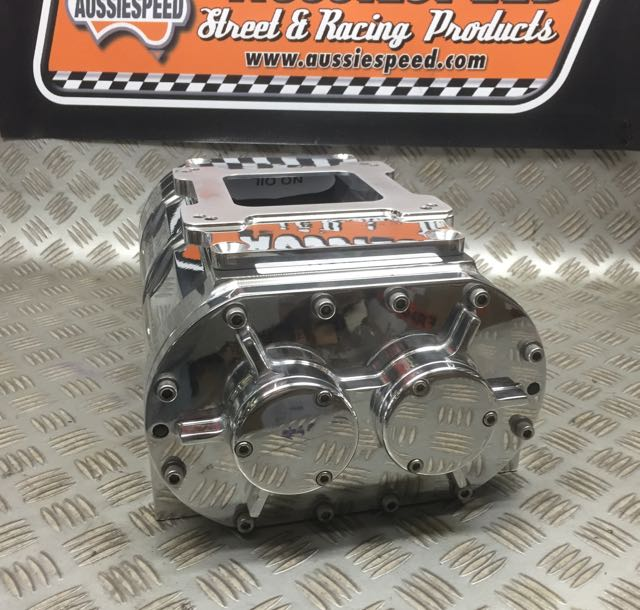 Blower Supercharger Kit For Ford 302: Supercharger 192CI The Blower Shop Polished