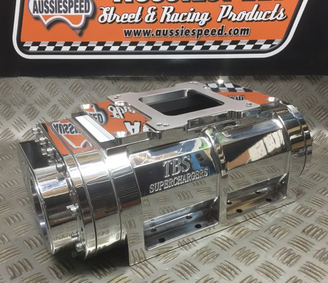 Supercharger Blower Pictures: Supercharger 192CI The Blower Shop Polished