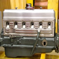 Holden 6 grey motor