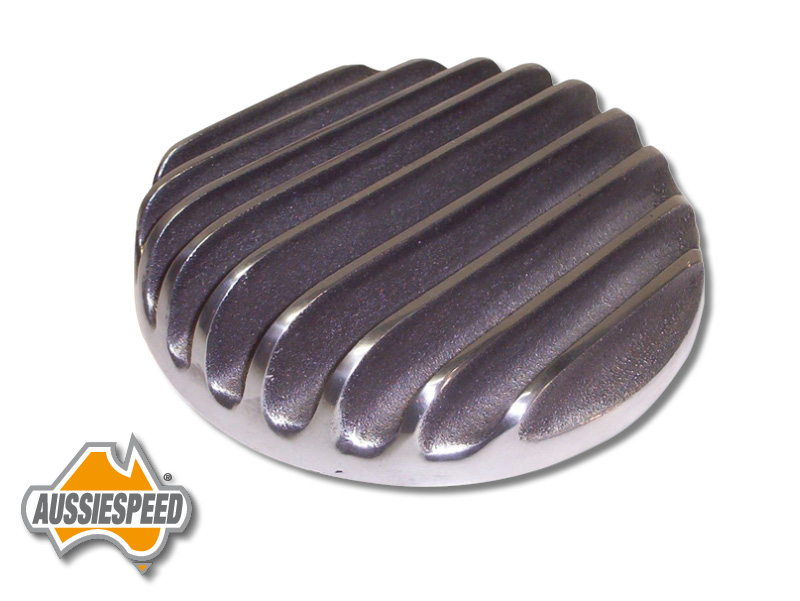 Hot Rod Air Cleaner : Hot rod finned air cleaner top as p aussiespeed