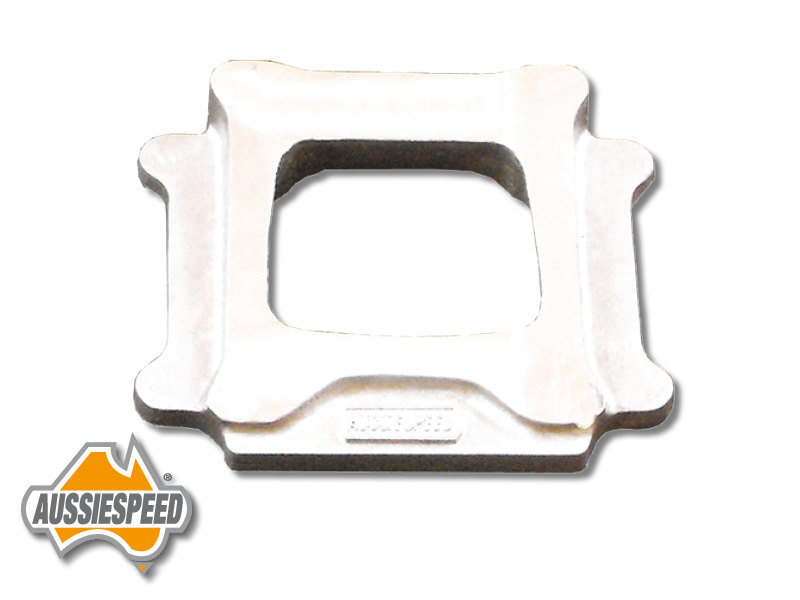 Carb Wedge Spacers : Wedge supercharger adaptor suit holley squarebore as