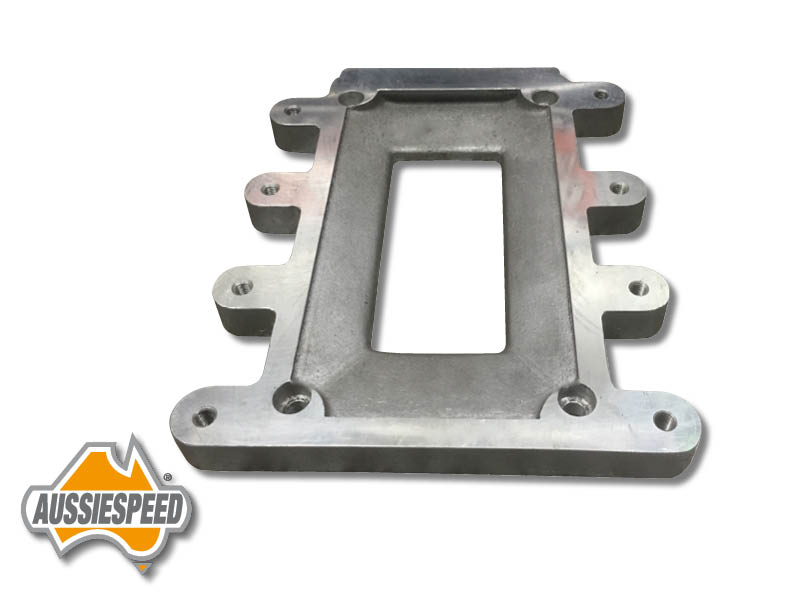 Eaton M112 Ford V8 supercharger adapter plate to 142/144 Weiand AS0512