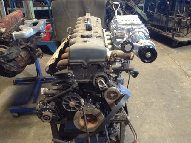 4 Cylinder Blower : Ford ea to au supercharger manifold as