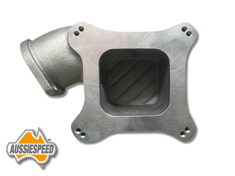 M90 Eaton Supercharger 4 Barrel Holley Carb adapter AS0343