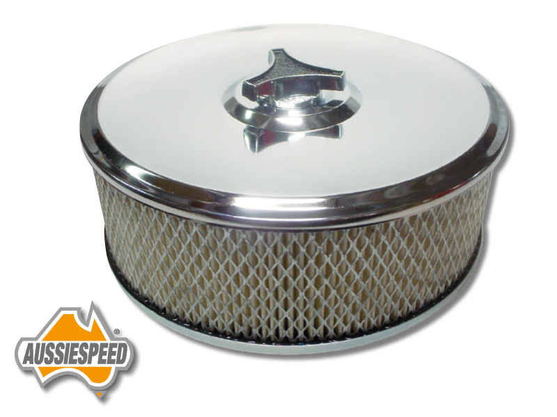 16 Inch Air Cleaner : Chrome air cleaner suit inch with neck
