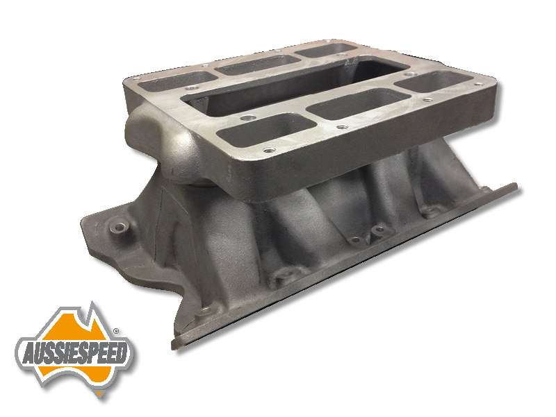 Tunnel ram supercharger manifold 2V Ford Cleveland 302, 351 AS0028/AS0290