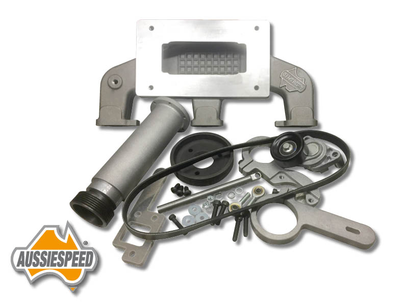 Chevy 6 194, 250 inline supercharger kit suit Weiand 142/144